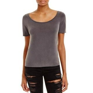 Project Social T Womens T-Shirt Cupro Short Sleeves - l