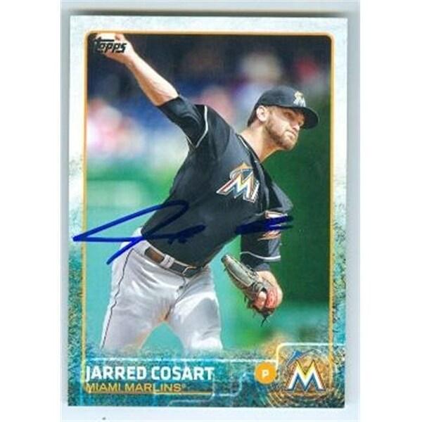 Miami Marlins 2015 Topps No 430 Jarred Cosart Ed Baseball Card