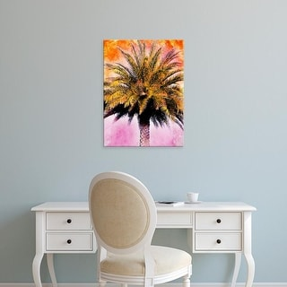 Easy Art Prints Skip Nall's 'Hifi Palms IV' Premium Canvas Art