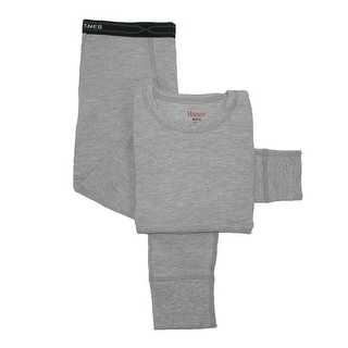 Hanes Boys' Thermal Underwear Set