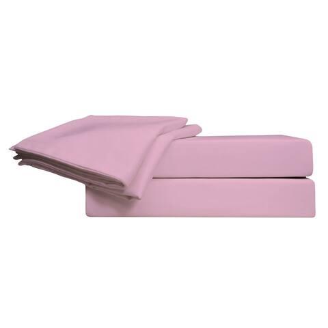 450 TC Super Soft 100% Pima Cotton Sateen, Solid Color Sheet Set