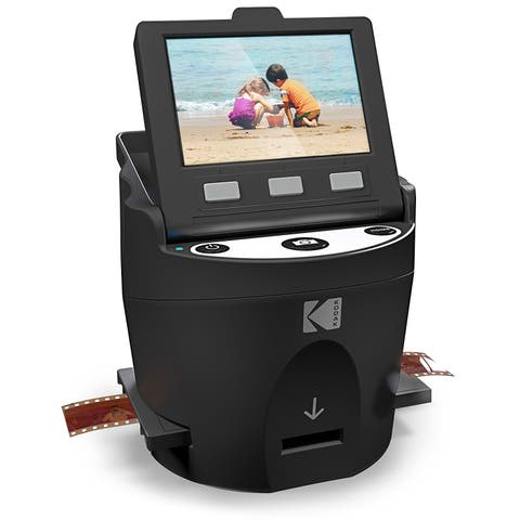 KODAK SCANZA Digital Film & Slide Scanner  Converts 35mm, 126, 110, Super 8 & 8mm Film Negatives & Slides to JPEG