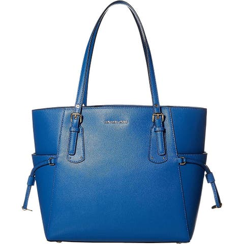 MICHAEL Michael Kors Voyager East/West Tote Vintage Blue One Size - One Size