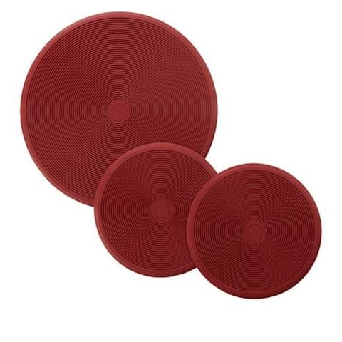 Curtis Stone Set of 3 Silicone Trivets Model 639-832