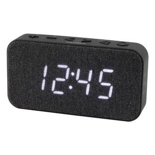 Jensen jcr-229 fm digital dual alarm clock radio
