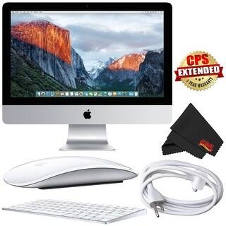 Apple iMac MK452LL/A 21.5-Inch Retina 4K Desktop 3.1GHz 8GB 1TB HDD + MicroFiber Cloth Bundle