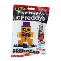 Five Nights at Freddy's 8-Bit Buildable Figure: Plush Fredbear - Multi