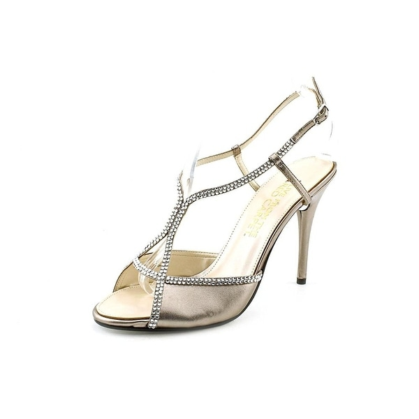 E! Live From The Red Carpet Womens E0044 Open Toe Ankle Strap D-orsay Pumps