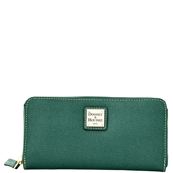 Dooney & Bourke Saffiano Large Zip Around Wallet (Introduced by Dooney & Bourke at $138 in Aug 2014)