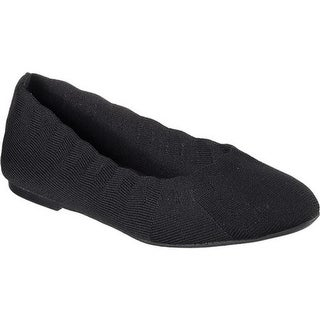 Skechers Women's Cleo Bewitch Ballet Flat Black