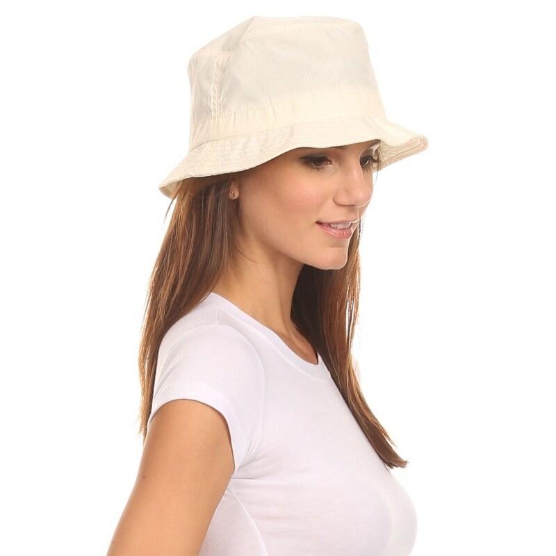 Thumbnail 1, Unisex Bucket Rain Hat.