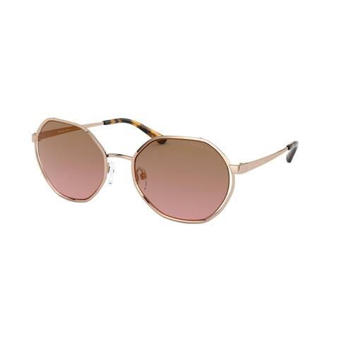Michael Kors MK1072 110814 57 Rose Gold Woman Irregular Sunglasses