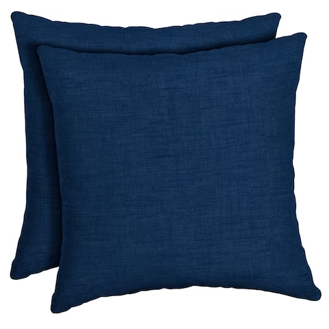 Arden Selections Sapphire Leala Throw Pillow, 2 pack - 16 in L x 16 in W x 5 in H