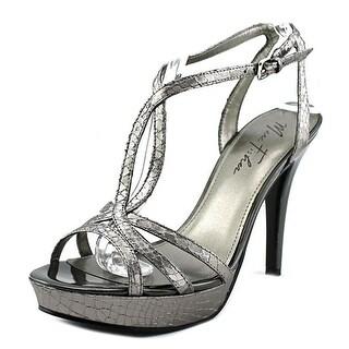 Marc Fisher Too Hot Women Open Toe Synthetic Platform Sandal