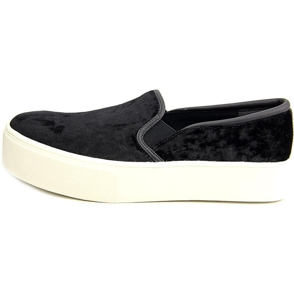 Bar III Womens Hugo Fabric Low Top Slip On Fashion Sneakers