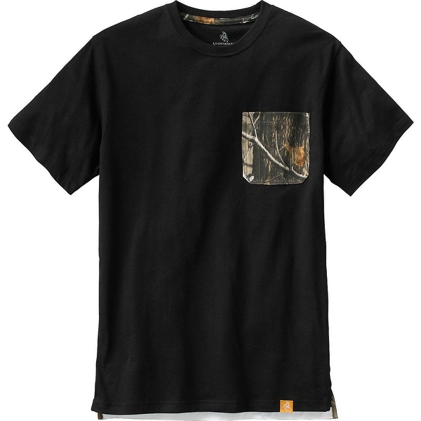 Legendary Whitetails Mens Whitetail Pocket Workwear Short Sleeve Tee