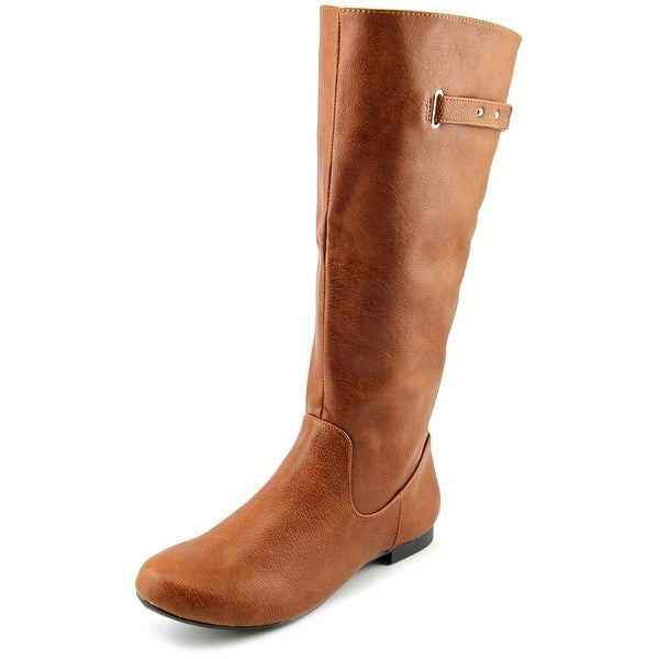 Style & Co Mabbel Wide Calf Women Round Toe Synthetic Knee High Boot