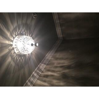 Somette Chrome 2-Light Chandelier