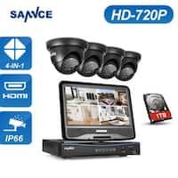 SANNCE 8CH 720P HD Video Security Surveillance Cameras System