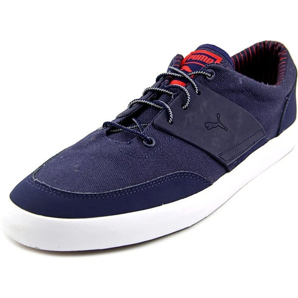 Puma El Ace 4 Men Round Toe Canvas Blue Running Shoe