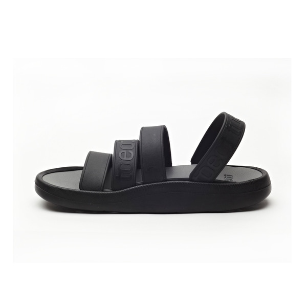 TOEOT Men's TA Sandal, Customizable Sandals, Black
