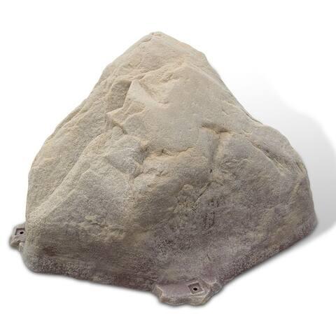 Fake Rock Well Cover Model 101 Sandstone