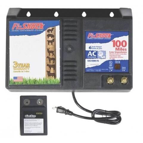 Fi-Shock EAC100M-FS AC Low Impedance Energizer, 100 Miles