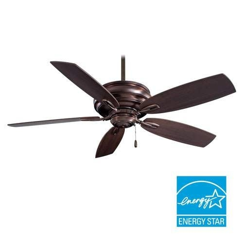 """MinkaAire Timeless 5 Blade 54"""" Timeless Energy Star Ceiling Fan with Blades Included"""