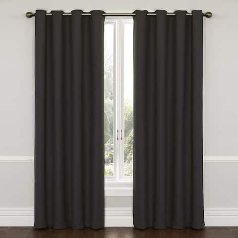 Eclipse Wyndham Grommet Blackout Window Curtain Panel