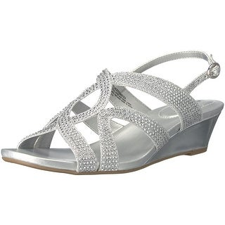 Bandolino Womens GoMeisa Open Toe Casual Slingback Sandals