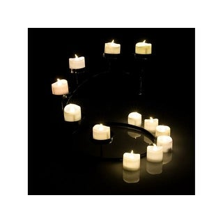 Tea Light Candles Warm White, AGPtek 6 PCS LED Flameless Battery Operated Tea light Tealight Candles with Batteries - SIZE