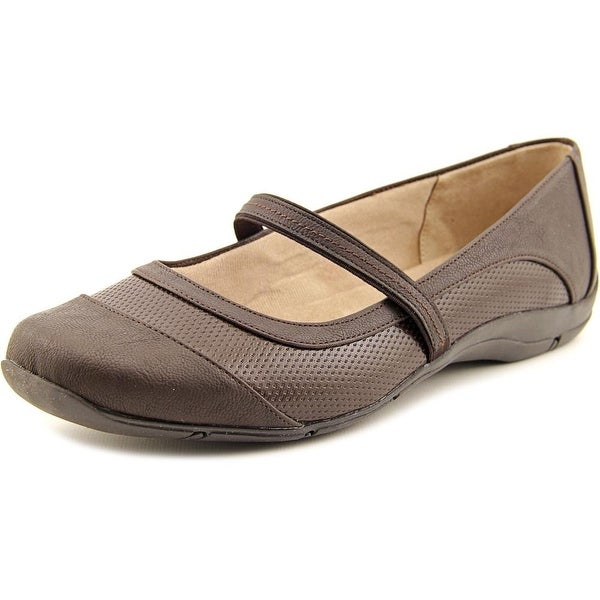 Life Stride Dare Women Round Toe Synthetic Brown Mary Janes
