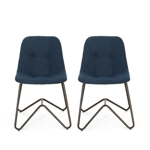 Norwood Fabric Dining Chair (Set of 2) by Christopher Knight Home