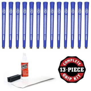 Avon Chamois Jumbo Blue - 13 piece Golf Grip Kit (with tape, solvent, vise clamp)|https://ak1.ostkcdn.com/images/products/is/images/direct/da3ced1756942d0a2fef156ca8fb4a9bfba42da3/Avon-Chamois-Jumbo-Blue---13-piece-Golf-Grip-Kit-%28with-tape%2C-solvent%2C-vise-clamp%29.jpg?impolicy=medium