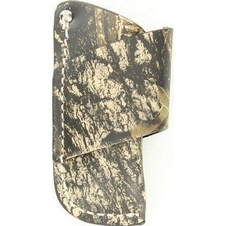 Nocona Knife Sheath Horizontal Camo Leather S Mossy Oak