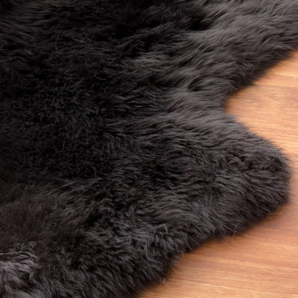 Silver Orchid Nansen Genuine Soft Australian Sheepskin Rug Overstock 12807699