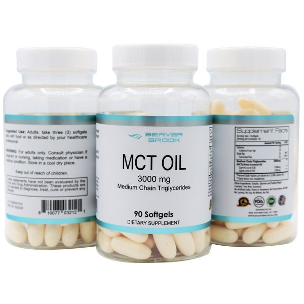 Shop Beaver Brook MCT Oil Dietary Supplement - Ships To Canada