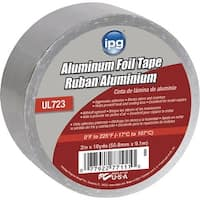 "Intertape 2""X10Yd Alum Foil Tape"