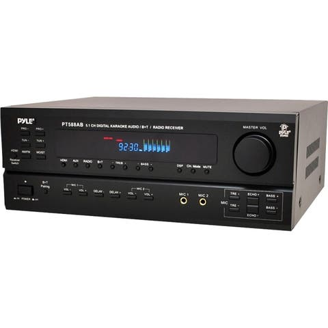 Pyle pt588ab 5.1-channel home receiver with hdmi & bluetooth