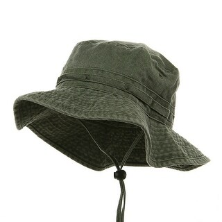 Fishing Hiking Outdoor Hat (02)-Olive W10S30F (3 options available)