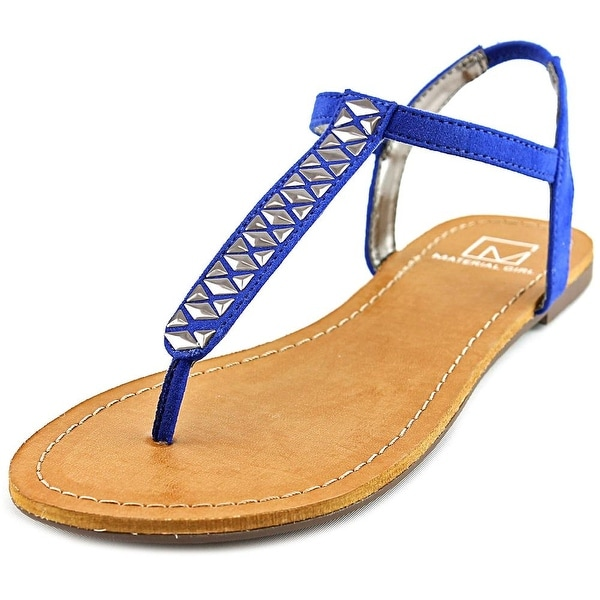 Material Girl Sage Women Cobalt Sandals