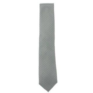 Link to Michael Kors Mens Neck Tie Silk Grid - Grey - O/S Similar Items in Ties