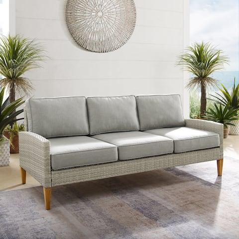Capella Outdoor Wicker Sofa