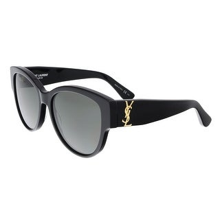 Saint Laurent SL M3-002 Black Cat Eye Sunglasses - 55-16-140
