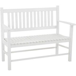 Jack Post Knollwood White Bench