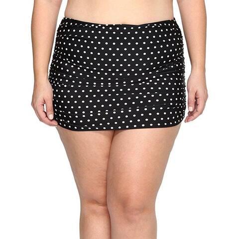 LAUREN Ralph Lauren Women's Plus Size Dot Ultra Hi Waist Hipster SZ: 18W