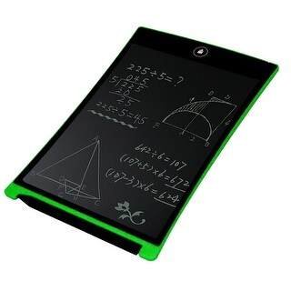 Children's LCD Paperless Tablet - 8.5inch - Drawing , Writing, Handwriting - One Click Erase - Great for ALL Ages! - Green