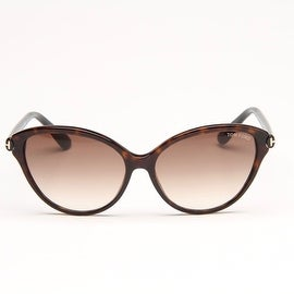 Priscilla Havana Brown And Black Sunglasses With Brown Gradient Lens