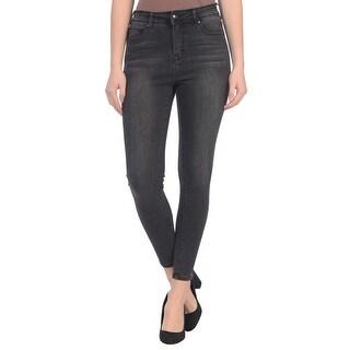 Lola Jeans Alexa-ASH, high rise skinny