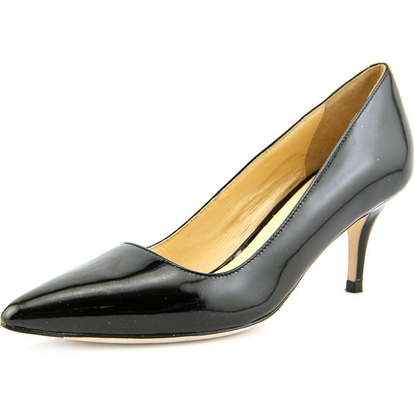 Cole Haan Bradshaw Women  Pointed Toe Patent Leather Black Heels
